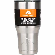 Ozark Trail 30 Ounce Vacuum Sealed Stainless Steel Durable Thermos Container New