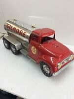 Tonka 1957  Custom Gilmore Gas Truck Polish.ed Tank Restored Custom