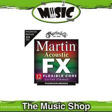 6x Martin FX 92/8 Phosphor Bronze 12-String Guitar Strings 10-54 Custom - MFX700