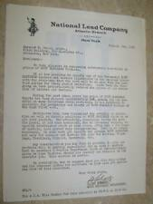 1933 NATIONAL LEAD CO ORNAMENTAL GUTTER ADVERTISING