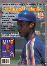 Baseball Cards - May 1989, - D. Strawberry Cover