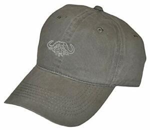 Tag Safari Embroidered Cap Buffalo Logo - Olive