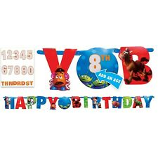 TOY STORY Jumbo Banner + Add An Age Letter Birthday Decoration