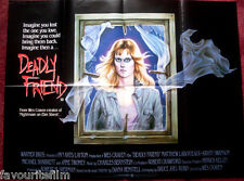 Cinema Poster: DEADLY FRIEND 1986 (Quad) Kristy Swanson Wes Craven Anne Ramsey