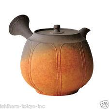 Japanese teapot - Shunen Mano - Morning glow 270 ml ceramic net - Tokoname kyusu