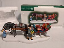 Department 56 Loading The Cutter For Christmas New England Village 807249 - read