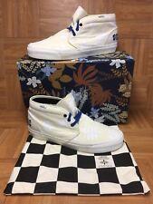 RARE🔥 VANS TH Taka Hayashi Chukka 75 LX Canvas Leather Marshmallow Nubuck Sz 13