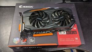 Gigabyte AORUS Radeon RX580 4GB GPU AMD RX 580 Gaming Graphics Card