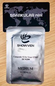 Cold Spark Sparkular Mini Medium Sparkular Powder Titanium Granules HC8200 45G