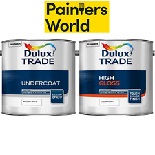 2.5 litre Dulux Trade Gloss & Undercoat Pure Brilliant White