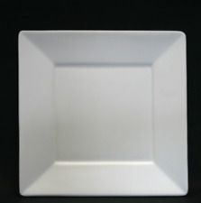 Fused glass slumping mould, 26cm square shallow platter / plate / dish with rim