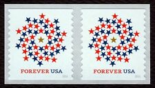 #5130 Patriotic Spiral, Coil Pair, Mint **ANY 4=FREE SHIPPING**
