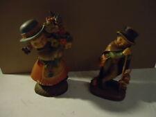 Juan Ferrandiz - 2 Figuren Holzschnitzerei