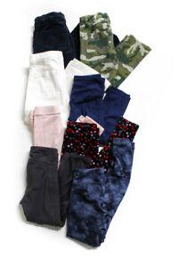 Athleta Crewcuts Childrens Girls Jeans Corduroy Pants Leggings Size 6 7 Lot 8