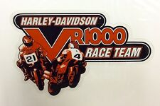 Harley Davidson VR1000 Race Team Window Decal/ Cling