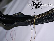 Per Mazda mx5 III 05+ Volante in Pelle Perforata Copertura Beige Doppio tale