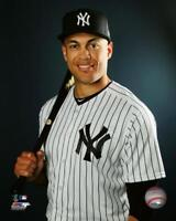 """2018 GIANCARLO STANTON """"Yankees"""" LICENSED un-signed poster print pic 8x10 photo"""