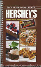 HERSHEY'S Cookbook NEW Chocolate RECIPES Cookies CANDY Cakes HERSHEYS Desserts