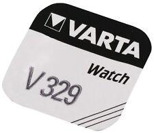Pila per Orologio V329 Sr731sw V329d D329 329 VARTA Ossido D'argento 1.55v