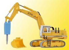 Kibri 11271 H0 Liebherr 974 mit Abbruchmeißel und Schutzkäfig