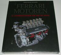 Bildband Ferrari Motoren - 15 Triebwerksikonen von 1947 bis heute Buch NEU!