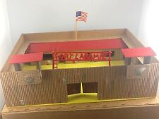 Vintage Wooden Fort Laramie Scale 1:32 Early 1960's