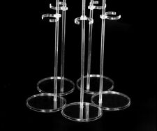 5 pcs/lot Doll Stand Accessories  Doll Display Holder Transparent Stent