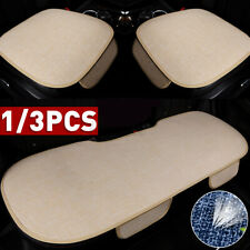 Universal Car Seat Cover Auto Front Back Seat Protector Mat Cushion Linen Fabric
