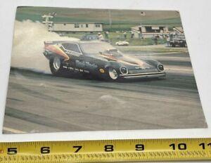 Vintage Drag Racing Post Card