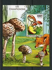 Guinea 2015 MNH Mushrooms 1v S/S Fungi Les Champignons