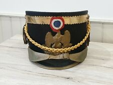 Ancien shako militaire second empire ref 853