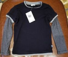 NWT - Splendid Littles 2 in 1 T-Shirt - Size 3T (Navy/Gray)