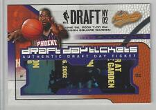 Amare Stoudemire #06/15 2002-03 Fleer Authentic Draft Day Ticket **RARE**