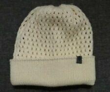 The North Face Crema de un tamaño de punto beanie Señoras Sombrero!!!