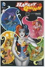 Harley Quinn 1 Loot Crate promo New 52 hot title series Suicide Squad