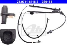 Sensor, Raddrehzahl für Bremsanlage Hinterachse ATE 24.0711-6118.3