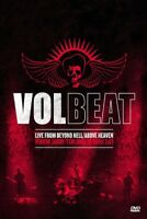 """VOLBEAT """"LIVE FROM BEYOND HELL/ABOVE HEAVEN""""BLU-RAY NEW+"""