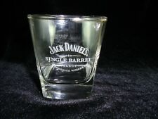Genuine Jack Daniels Whiskey Single Barrel Select Rocks Glass Weighted Base Rare