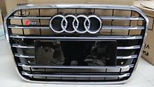 S6 Style Chrome Frame Front Grille Grill for Audi A6 C7 2012-2015