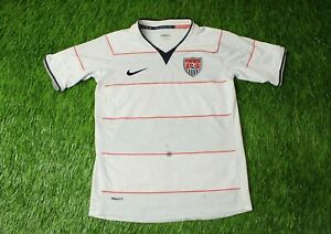 USA NATIONAL TEAM 2008/2009 FOOTBALL SHIRT JERSEY HOME NIKE ORIGINAL YOUNG M