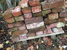 Ziegelsteine in Reichsformat, alte Ziegelsteine, alte Backsteine, Mauerziegel