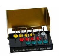 New Universal Osseodensification Implant Burs Drills Kit 13 Pcs Densah Burs CE