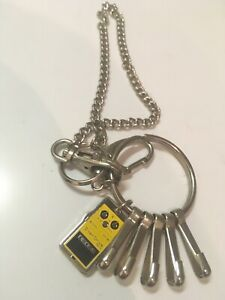 Very Rare Boss OD3 Overdrive Pedal Key Ring/Wallet Chain Promotional Item