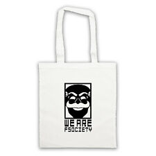 we are FSOCIETY like MR ROBOT tote bag different colours shopper  hacker cyber