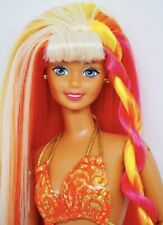 RARE Hula Hair Barbie Doll NRFB 1996