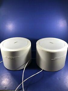 2 Bose Freespace DS16F Loudspeakers Speakers