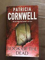 "2007 1ST EDITION ""BOOK OF THE DEAD"" PATRICIA CORNWELL HARDBACK BOOK"