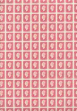 FRANCE  FEUILLE COMPLETE de 200, 1,5F DULAC. NEUVE xx. Froissure sur 4 timbres