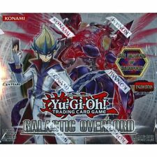 YUGIOH GALACTIC OVERLORD EURO EDITION BOX BLOWOUT CARDS TRADING GAME RARE