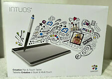 WACOM Intuos CTH-480 Small Creative Pen and Touch Graphic Drawing Tablet - NIB